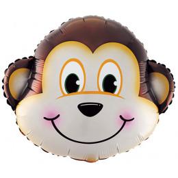 Фигурный шар Обезьянка (голова)