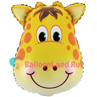 Фигурный шар Жираф (голова)