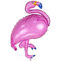 Фигурный шар Розовый Фламинго
