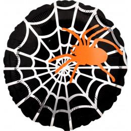 Шар-круг Оранжевый паук на паунтине