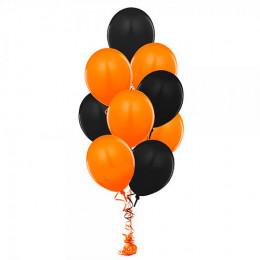 Шары Черные и оранжевые