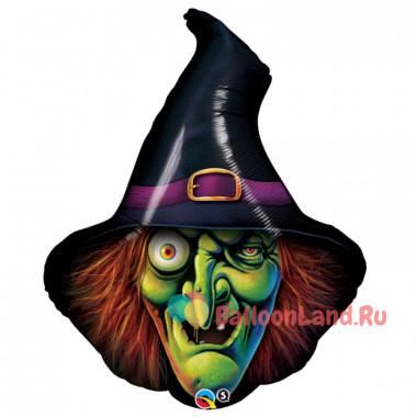 Фигурный шар Ведьма в шляпе