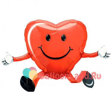 Ходячая фигура 'Сердце'