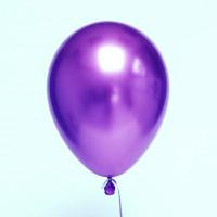 Шары Хром фиолетовые
