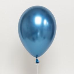 Шары хром Синие