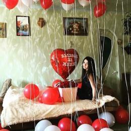 Набор из латексных шаров Предложение замуж
