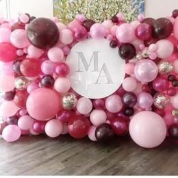 Фотозона из шаров Розовый рай