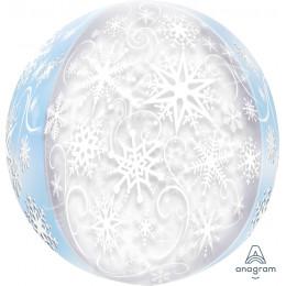 Шарик-сфера Снежинки