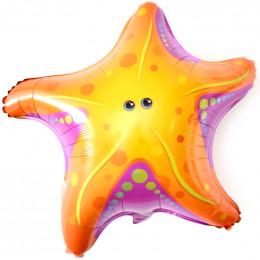 Шарик-звезда Морская звезда с глазами, желтая