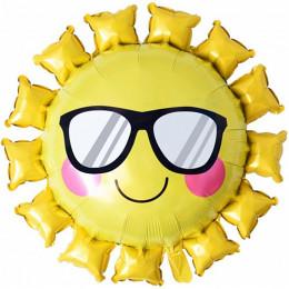 Фигурный шар Солнце в очках