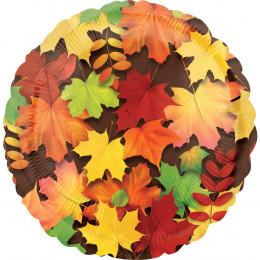 Шарик-круг Осенние листья