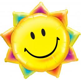 Фигурный шар Солнце-смайл