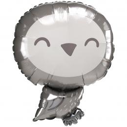 Фигурный шар серая Совушка