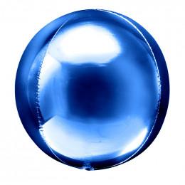 Шарик-сфера Синий, металлик