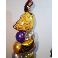 Букет гелиевых шаров с красавицей Белль