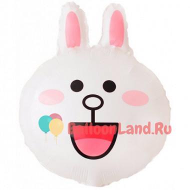 Фигурный шар Зайка (голова)