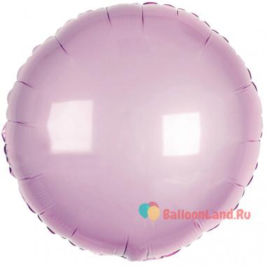 Шар-круг Нежно-розовый