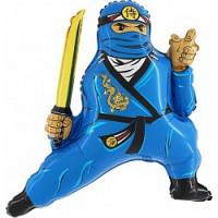 Фигурный шар Синий Ниндзя из Ниндзяго