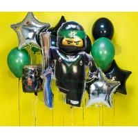 Сет из шариков Лего Ниндзяго Лойд и звезды
