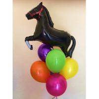 Букет воздушных шаров Лошадка