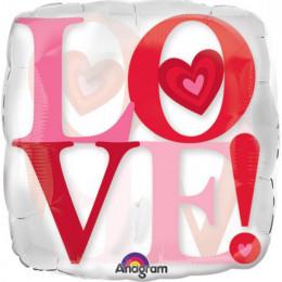Шар-подушка большой LOVE!