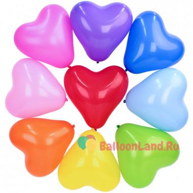 Шары Разноцветные сердца