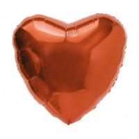Шар-сердце Бронзовый