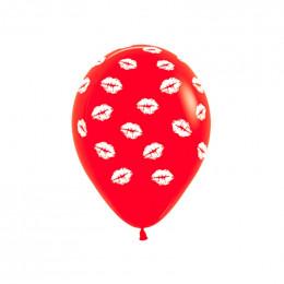 Шары Поцелуи Красные
