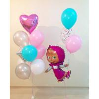 Сет воздушных шариков Маша