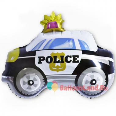 Фигурный шар Полицейская машина с мигалкой