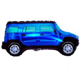 Фигурный шар Джип синий