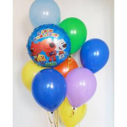 Букет из воздушных шариков Ми-ми-мишки для самых маленьких