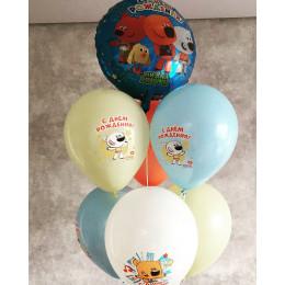 Букет из шариков с героями мультика Ми-ми-мишки