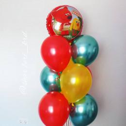 Фонтан из шаров Ми-ми-мишки на День Рождения