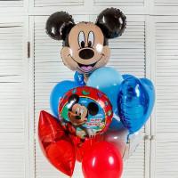 Облако шаров на День Рождения с Микки