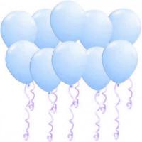 Воздушные латексные шары Голубые - дополнительное фото #1
