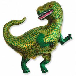 Фигурный шар Зеленый тиранозавр