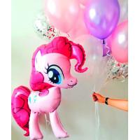 Сет из шариков в нежно-розовых тонах с пони Пинки Пай