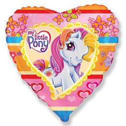 Шар-сердце Моя маленькая пони