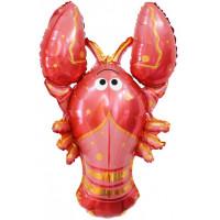 Фигурный шар Красный Лобстер