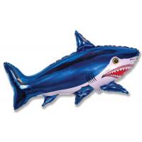 Фигурный шар Акула синяя