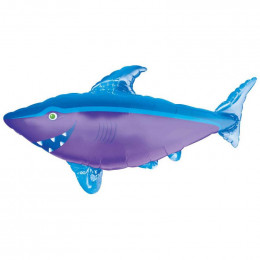 Фигурный шар Акулая фиолетовая
