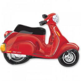 Фигурный шар Красный электро скутер