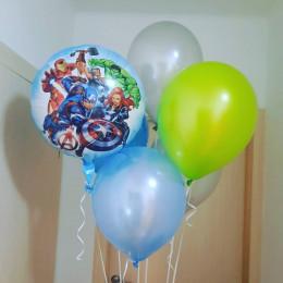 Букет шариков Мстители для мальчика