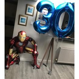 Набор шаров супер герой Железный Человек на День Рождения мужчине