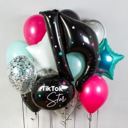 Набор воздушных шаров Звезде Тик-Тока