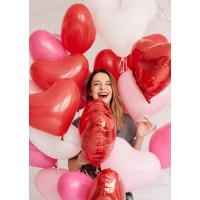 Облако шаров-сердец Воздушная любовь на праздник для всех влюблённых