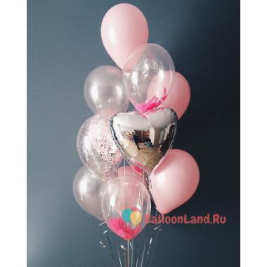 Букет из шариков в подарок любимому человеку