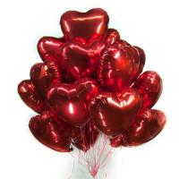 Облако шаров с гелием Любовь