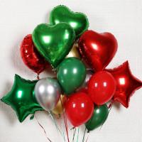 Букет ярких воздушных шаров для мужчины